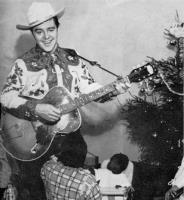 Joe Campbell Entertains at Children's Christmas Party, DC General Hospital, 1954