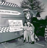 Joe Campbell and the Ralston Rocket (Photo ©2004, Estate of Joseph Pendleton Campbell. All rights reserved.)