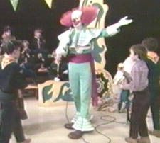Tony Alexi as Channel 20's first Bozo. (Donated by Dick Dyszel)