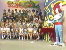 Bozo's Goodbye Wave on his last program (8/19/77) (Donated by Dick Dyszel)