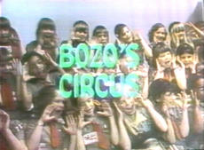 Channel 20's *Bozo's Circus* (Photo Donated By Dick Dyszel)