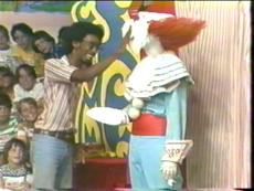 Bozo Is Hit With One of Many Pies On His Last Show, 8-19-77 (Donated By Dick Dyszel)