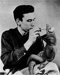 Jim Henson, Circa 1955 (From Jim Henson at Maryland web site)