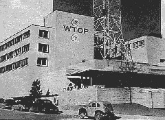 WTOP-TV Broadcast House 1955 from Broadcast News Magazine (Courtesy: Dave Statter)
