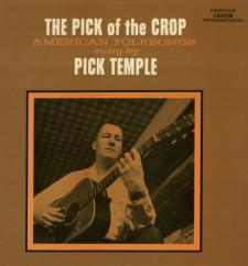 *The Pick of the Crop* Cover, Pick Temple's Prestige International Phono Album  (Donated by Jack Maier)
