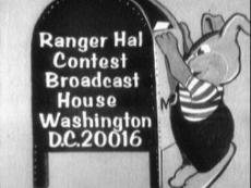 Ranger Hal's Contest Address (Donated by Tom Buckley, WUSA-TV)