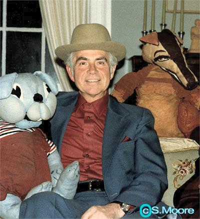 Hal Shaw at Home in the '80s (Copyright Stephen Moore)