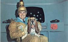 Willard Scott as COMMANDER RETRO (and friend)