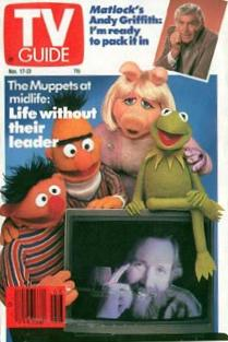 Nov '90 TV Guide Cover - After Jim Henson's Death