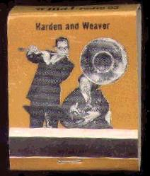 *Harden and Weaver* Matchbook