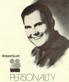 Willard Scott at *The Great 98*. Circa 1974 (Donated by Skip McCloskey)