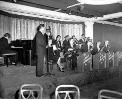Billy Johnson Orchestra, 1947 (Photo courtesy of Billy Johnson, All Rights Reserved)