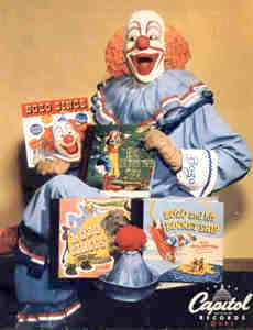 Pinto Colvig, the original Bozo the Clown (1948 Photo)