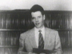 Bob Dalton in 1954 (Donated by Tom Buckley, WUSA-TV)