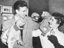 Jim Henson, Jane Nebel Henson (Circa 1957) w/ Sam & Friends