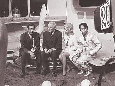 Herb Davis, Justice Douglas, Anne Shadbolt, Johnny K as Captain 20, 1969 Children's Hospital Telethon