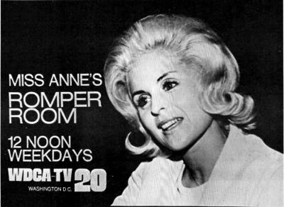 Ad For Miss Anne's Romper Room on Channel-20