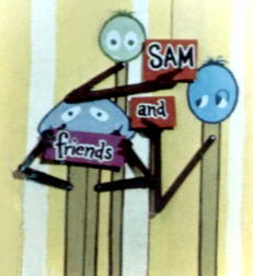 Sam & Friends Graphics (From *Jim Henson - The Works*)